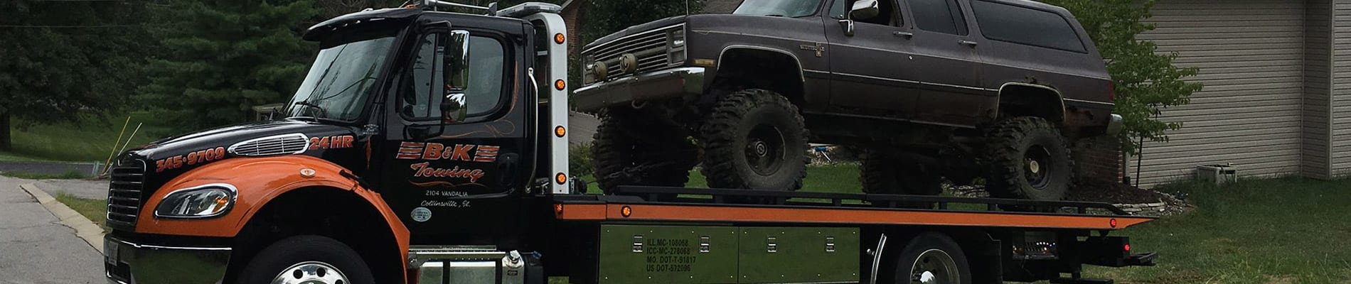 towing service troy illinois