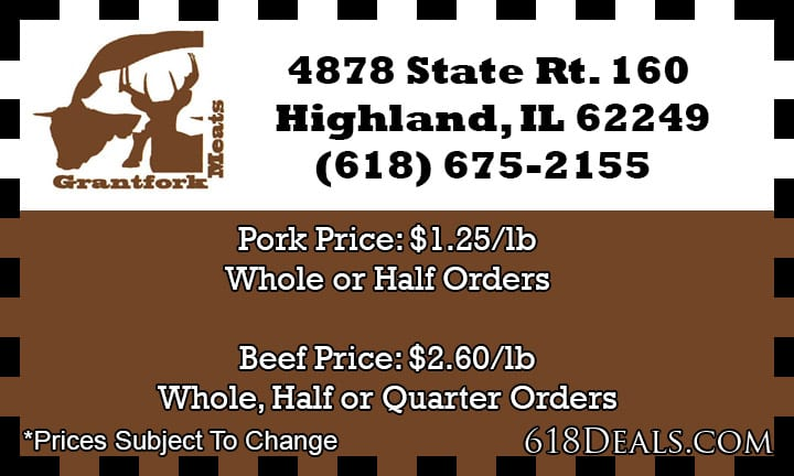 whole pork price highland il
