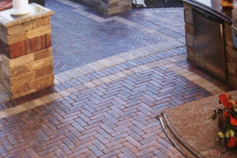 herringbone patio highland il