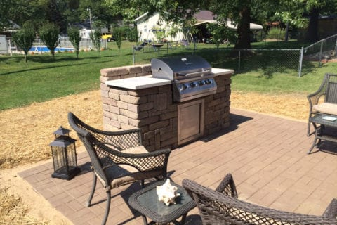 outdoor kitchen highland il