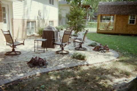 landscaping patio highland il