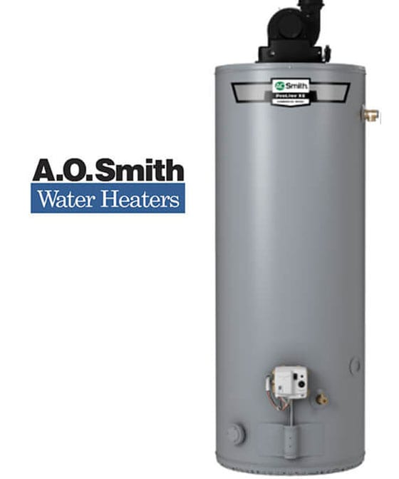 conventional water heaters trenton il