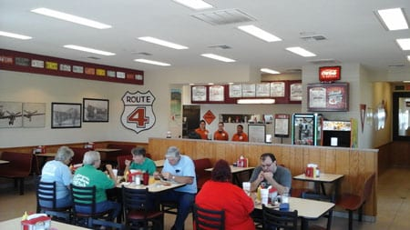 american food restaurant in sparta il