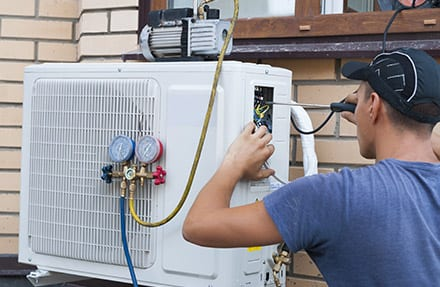 air conditioning service bunker hill il