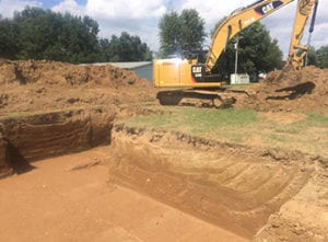 basement excavation carlyle il
