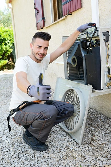 hvac replacement in godfrey il