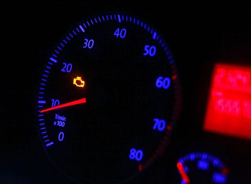 transmission fluid engine light in Fairview Heights Illinois