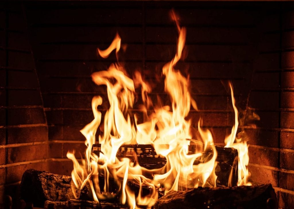 Wood Burning Fire Place Collinsville IL