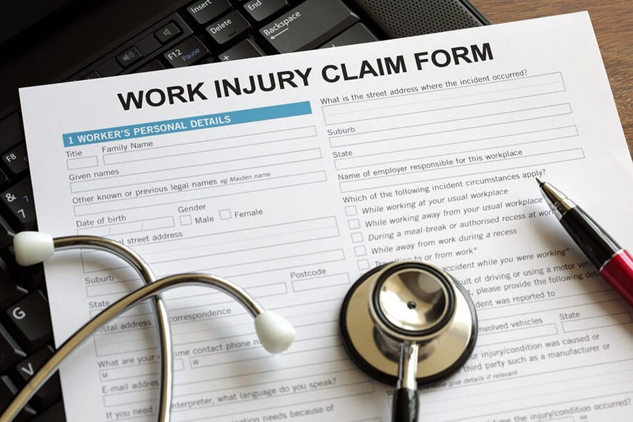 Claim Forms and Worker's Comp Lawyers