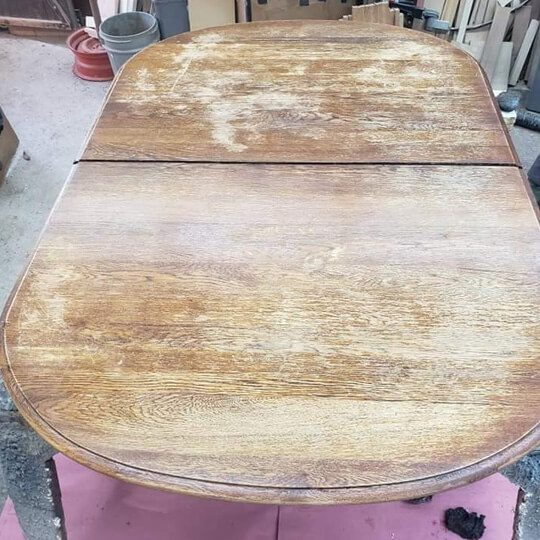 Before Table Restoration